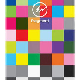 uncommon, fragment design - Fragment Color Blocks BW by Hiroshi Fujiwara iPhone 5 Black Bezel Deflector