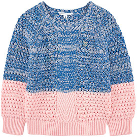 Little Marc Jacobs - Two-color knit sweater - 124703