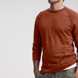 JAMES PERSE - LIGHTWEIGHT FLEECE SWEAT SHIRT