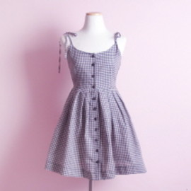 The virgins love - gingham check ops
