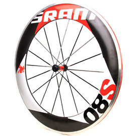 SRAM -  SRAM  S80 carbon front wheel (red)