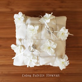Color Palette Flowers - Ring Pillow Collection/Garden