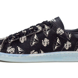 "adidas - PW STAN SMITH PONYHAIR ""PONYHAIR PACK"" ""PHARRELL WILLIAMS × BILLIONAIRE BOYS CLUB"""