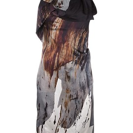 Vivienne Westwood Anglomania - blurry print fitted dress