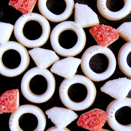 thumb and cakes - ring party cookie