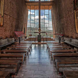 Arizona USA - Chapel of the Holy Cross in Sedona