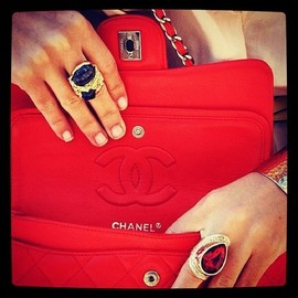 CHANEL - Red!!!
