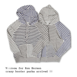 Ron Herman - V::Room for Ron Herman crazy border  parka