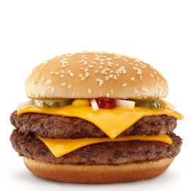 McDonald's - Double Quarter Pounder with Cheese