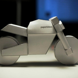 Paperbikes - paperbikes v101 naked motorcycle ducati monster