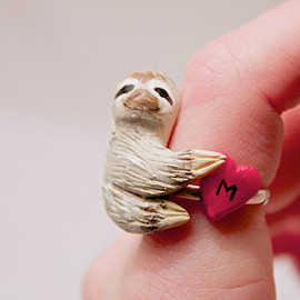 A Sloth to Hold Your Keys