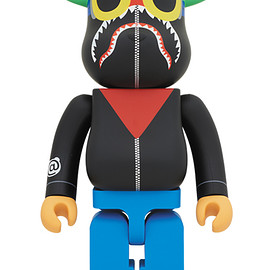 MEDICOM TOY - A BATHING APE(R) × HEBRU BRANTLEY × SOCIAL STATUS BE@RBRICK 1000%