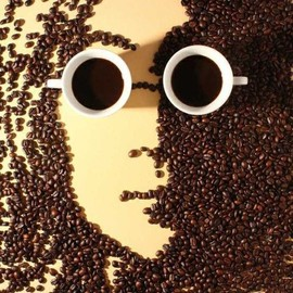Jatuporn K. Suwan and Hong Yi - Coffee Art - John Lennon