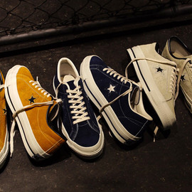 "CONVERSE - CONVERSE の新プロジェクト""TIME LINE""より ONE STAR J VTG ""made in JAPAN"" が発売"