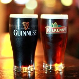 Irish Draft Beer - Guinness&Kilkenny