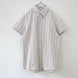 A.P.C. - A.P.C. / アーペーセー  stripe short sleeve shirt