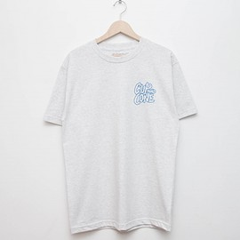 cup and cone - Logo Tee - Ash