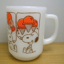 Fire King - Snoopy Sweets mug cup