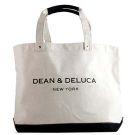 DEAN & DELUCA  - New York Black & Natural Tote