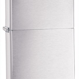 Zippo - Brushed Chrome Pocket Lighter