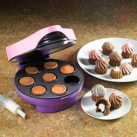 Nostalgia Electrics - CFC400 Cream Filled Mini Cupcake Maker