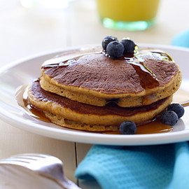 Nestlé - Whole-Wheat Pumpkin Blueberry Pancake