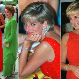Lady Diana - Red Gown