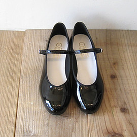 CATWORTH - PATENT LOW HEEL SYLLABUSワンストラップシューズ