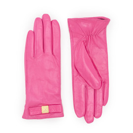 kate spade NEW YORK - good point pyramid bow leather glove