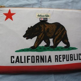 detour life - Folder Poach California Flag