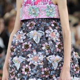 Mary Katrantzou - at London Fashion Week Spring 2014