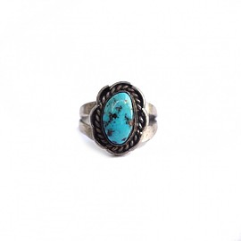 VINTAGE - ビンテージ ターコイズリング【Turquoise】 VINTAGE RING