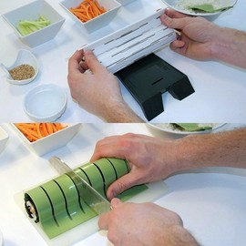 SushiQuik - sushi kit with roll cutter