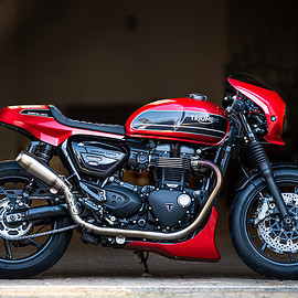 Triumph - Speed Twin custom kit by Rennstall Moto
