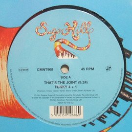 FUNKY 4+1 /  - THAT'S THE JOINT c/w ROCKIN' & RAPPIN' IN THE HOUSE / SUGARHILL