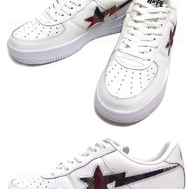 A BATHING APE - ABATHINGAPE(エイプ)BAPECHECKBAPESTA【新品】REDCHECK291-001105-293[1860-181-038]-【smtb-TD】【yokohama】
