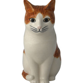 Liberty London - Squash Cat Money Box, Quail