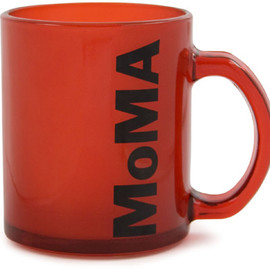 MoMA - Mug MoMA Glass Red