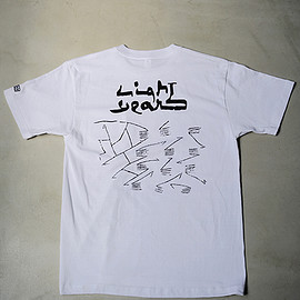 ENDS & MEANS + LIGHT YEARS - T-SHIRT / T01 WHITE