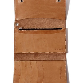 RE.ACT - U.K. SADDLE LONG WALLET