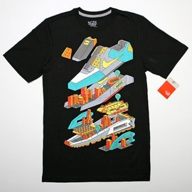 Nike - Stack'in Air Max like Lego's Tee