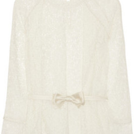 Chloe - Belted lace blouse