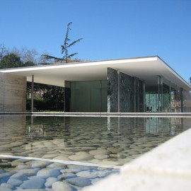 Mies Van Der Rohe - Barcellona Pavillon, Outside View
