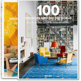 TASCHEN - 100 Interiors Around the World. 2 Vols.