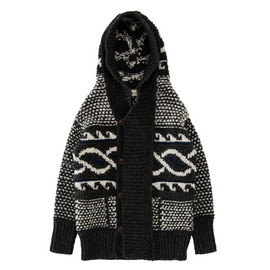Tomorowland - knitted hooded jacket