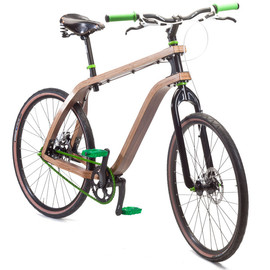 stanislaw ploski -  bonobo bent plywood bike