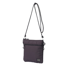 "HEAD PORTER - ""LUMIERE"" SHOULDER POUCH (S) BLACK"