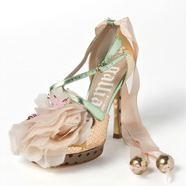 galliano - leather_corsage_rase_up_sandal
