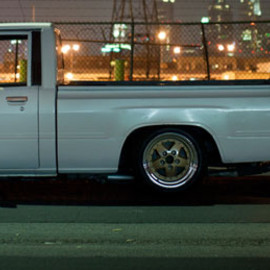 TOYOTA - 1987 Pickup Truck Stanced