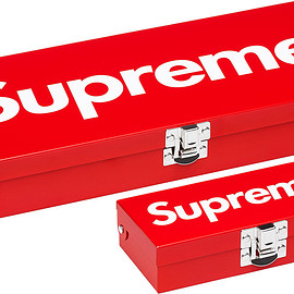 Supreme - Small & Large Metal Storage Box